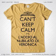 Magliette Keep Calm Addio Nubilato Amiche Sposa T-Shirt Matrimonio Colore Giallo Vintage Stampa Colore Nero Taglia XS-S-M-L-XL