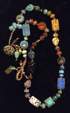 "Beads & Threads is where to go for ""What Women Buy for Themselves."" Jewelry that is bright, colorful, and fun to wear--all handmade and original."