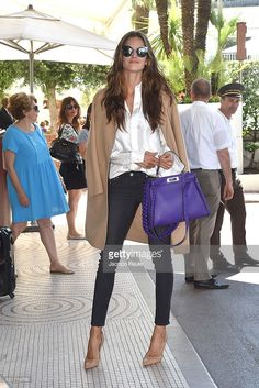 Izabel Goulart is seen at Hotel Martinez during the annual 69th Cannes Film Festival at on May 16, 2016 in Cannes, France.