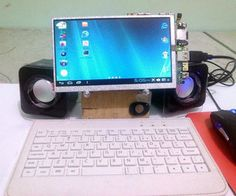 http://www.instructables.com/id/Android-tablet-to-Android-PC-Desktop/