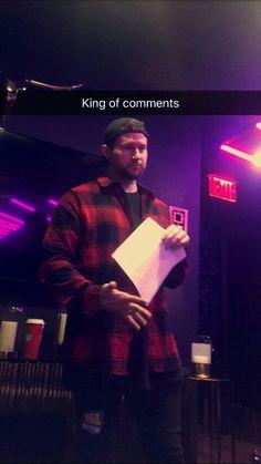 Ricky Dillon on Es Snapchat