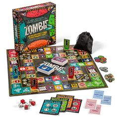 Zombie Road Trip Board Game- yes, please Zombie Board Game, Games Zombie, Zombie News, Game Card Design, Board Game Design, All Games, Games To Play, Fun Board Games, Bored Games