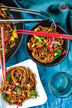 Vegetable Teriyaki Noodles | Video