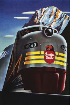 Railroad poster.