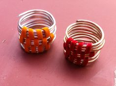 anillos de alambre