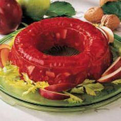 Ruby Gelatin Salad! Perfect for Christmas!