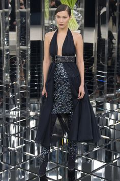 Bella Hadid - Chanel Spring 2017 Couture Collection Photos - Vogue