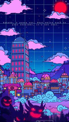 Hippie Wallpaper, Trippy Wallpaper, Anime Scenery Wallpaper, Graphic Wallpaper, Aesthetic Pastel Wallpaper, Kawaii Wallpaper, Aesthetic Wallpapers, Wallpaper Backgrounds, Cute Cartoon Wallpapers