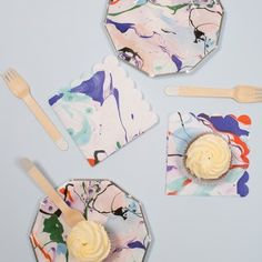 Searching for something to serve your delicious party bites? Party Table Decorations, Throw A Party, Party Tableware, Paper Napkins, Marble, Modern, Trendy Tree, Paper Towels, Granite