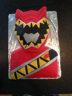 Power Ranger Dino Charge Cake