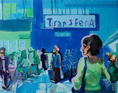 Zuzanna Walas, Transfer A, 2012 #art #contemporary #artvee