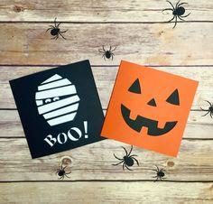 Mummy Papercut Halloween Card, Trick Or Treat, Boo, Halloween Party Invitation, Papercut Card, Hallow'een, Halloween Gift, Mummy Card, Pumpkin Card