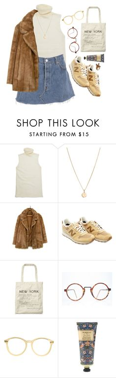 """""""2 2 2"""" by mywayoflife ❤ liked on Polyvore featuring Helmut Lang, Laura Lee, New Balance, Scotch & Soda, American Apparel, William Morris and Nach"""
