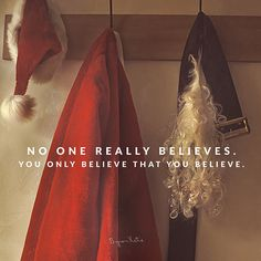 No one really believes. You only believe that you believe. - Byron Katie Is that a relief? thework.com