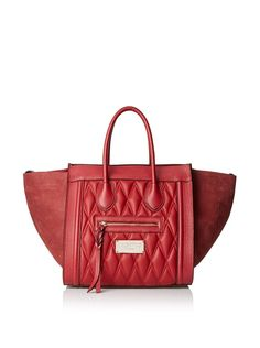 Valentino Bags by Mario Valentino Women's Cynthia D Quilted Tote, Rubino I http://www.myhabit.com