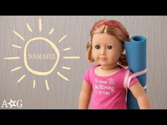 Doll Yoga Mat DIY | OMaG | American Girl - YouTube