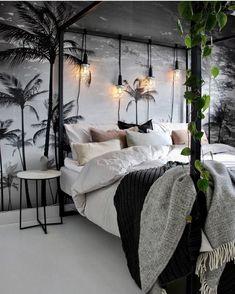 Home Decoration Ideas - Find Best Home Decor Interior Room Design Ideas Living Room Bathroom Bedroom Luxury Furniture 2019 Decor, White Bedroom, At Home Furniture Store, Home Bedroom, Black Rooms, Home Decor, Bedroom Decor, Purple Rooms, Bedroom