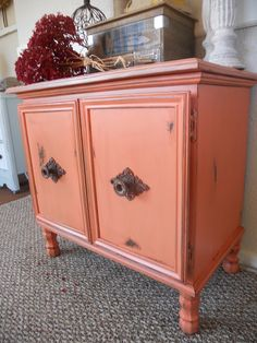 {createinspire}: Cabinet Makeover from an old laminate cupboard