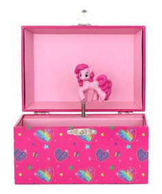 Love this My Little Pony Dome Musical Jewelry Box by My Little Pony on #zulily! #zulilyfinds