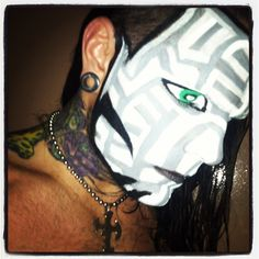 The Charismatic Enigma is the epitome of intrigue :) Wwe Jeff Hardy, Cool Face, Wrestling Superstars, Creatures Of The Night, Halloween Makeup, Instagram Posts, Face Paintings, Spandex, Boys