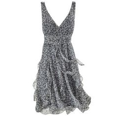 Smoke and Ivory Dress - $79.95  This is so feminine and flowing.