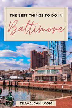 Visit Maryland, Annapolis Maryland, Baltimore Maryland, Cool Places To Visit, Places To Go, Baltimore Inner Harbor, East Coast Travel, United States Travel, Future Travel