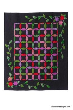 Melissa's Quilt, A Leaves Galore Pattern