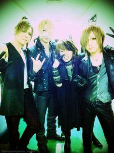 Kai. Reita. Takanori. Ruki. TM Revolution x The GazettE.