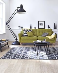 ercol new A/W 2014 Cosenza upholstery collection featuring Tori Murphy Chevy & Elca cushions