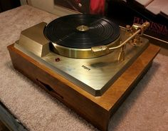 Empire Scientific 388G Turntable • - Record Player, Turntable, Music, Audio, Records, Vinyl, Audiophile - http://www.pinterest.com/TheHitman14/the-record-player-%2B/
