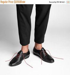 30% Sale Handmade black oxford men shoes black by NormanAndBella