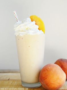 peach-milkshake from Meatload and Melodrama