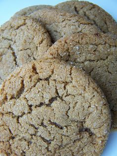 Sylvie Liv: Soft and Chewy Molasses Cookies