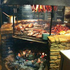 Salt lick BBQ pit, Austin TX - It is worth the effort it will take to find it!