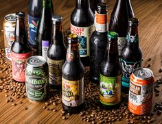 We tasted 18 of the best coffee beers on the market to put together the most definitive guide to coffee beer available— from pale ales to imperial stouts.
