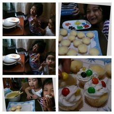 Kids just love cupcakes and now they love baking it too...  Click LIKE for bonding activities