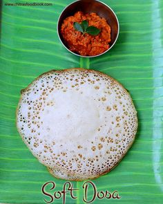 Chitra's Food Book: Puffed Rice Dosa – Soft,Sponge Dosa Recipe