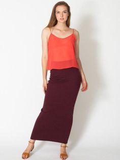 #co.uk                    #Skirt                    #Interlock #Long #Skirt #Long #Women's #Skirts #American #Apparel             Interlock Long Skirt | Long | Women's Skirts | American Apparel                                         http://www.seapai.com/product.aspx?PID=348662