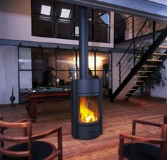 Double Sided Stoves - Multifuel Stoves, Cast Iron Stove, Gas (for basement?)