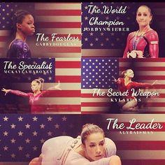 McKayla Maroney, Aliya Mustafina, and the unstoppable Fierce Five. All About Gymnastics, Gymnastics Images, Gymnastics Quotes, Gymnastics Team, Olympic Gymnastics, Cheerleading, Gymnastics Stuff, Gymnastics Posters, Gymnastics Workout