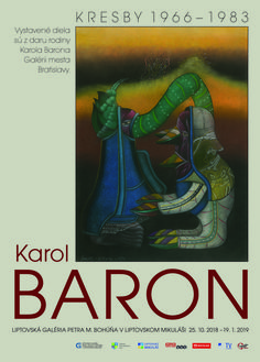 Výstava diel Karola Barona z obdobia 1966-1983, vo Veľkej sieni Liptovskej galérie P. M. Bohúňa v Liptovskom Mikuláši potrvá od 25.10.2018 - 19.1.2019. Väčšina kresieb nebola doposiaľ nikde vystavená ani publikovaná, sú z daru rodiny Karola Barona Galérii mesta Bratislavy. Comic Books, Comics, Cover, Movie Posters, Art, Art Background, Film Poster, Kunst, Cartoons