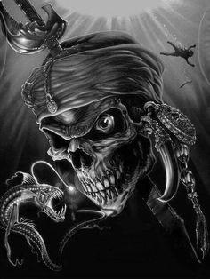 ANGEL'S HAND pirate skull airbrush art diamond embroidery diy diamond Painting pictures diamond mosaic gift diamond picture h Pirate Art, Pirate Skull, Pirate Crafts, Pirate Ships, Pinstriping, Dark Fantasy Art, Dark Art, Chihiro Cosplay, Airbrush Skull