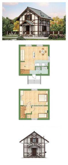 Ev villa projesi 060-002-R | House Expert