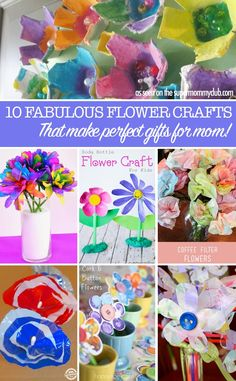 These flower crafts
