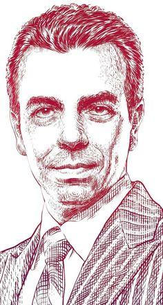Retratos! by Abraham Balcázar Rodríguez, via Behance