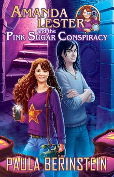 Review: Amanda Lester and the Pink Sugar Conspiracy by Paula Berinstein | Lola's Reviews