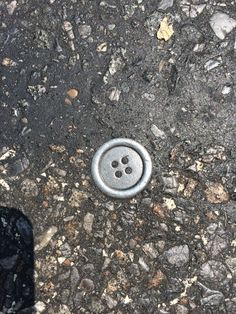 Button. Now part of the street.