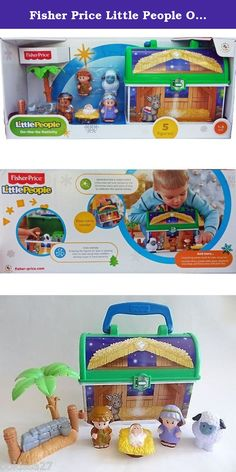 Fisher Price Little People On The Go Nativity. Find the true meaning with this Fisher-Price toy. Featuring Mary, Joseph, baby Jesus, a shepherd and a sheep, this Little People Nativity playset lets your little one relive that momentous occasion for the holidays.
