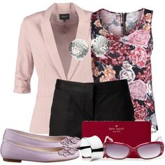 """""""Tailored Shorts"""" by debpat on Polyvore"""