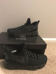 online store aea1a 193f5 Nike Men Zoom KD 9 Kevin Durant Basketball Shoes - used - us mens size 9